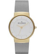 Skagen SKW2076 Ladies klassik zilveren stalen armband horloge
