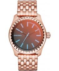 Diesel DZ5451 Ladies Kray Kray 38 rose goud verguld horloge