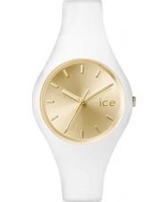 Ice-Watch 001395 Ladies ice-chic witte siliconen band kleine horloge