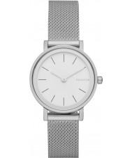 Skagen SKW2441 Ladies Hald zilveren stalen gaas armband horloge