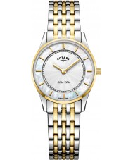 Rotary LB08301-41 Dames ultra slank horloge
