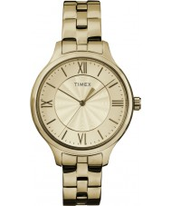 Timex TW2R28100 Dames stijl verhoogd peyton horloge