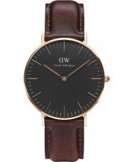 Daniel Wellington DW00100137 Klassiek zwart bristol 36mm horloge