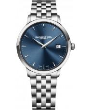 Raymond Weil 5488-ST-50001 Mens toccata zilveren stalen armband horloge