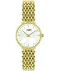 Rotary LB00900-01 Dames vergulde horloge