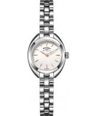 Rotary LB90158-02 Ladies les originales luzerne zilver toon stalen horloge