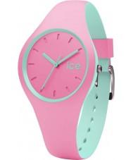 Ice-Watch 001493 Ice duo roze siliconen band horloge