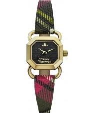 Vivienne Westwood VV085BKBR Dames ravencroft horloge