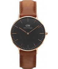 Daniel Wellington DW00100138 Klassiek zwart Durham 36mm horloge
