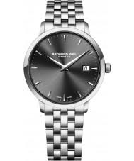 Raymond Weil 5488-ST-60001 Mens toccata zilveren stalen armband horloge