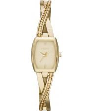 DKNY NY2237 Ladies crosswalk gouden steen set horloge