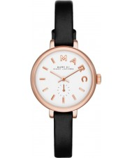 Marc Jacobs MBM1352 Ladies Sally zwart lederen band horloge