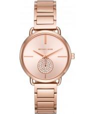 Michael Kors MK3640 Ladies portia rose goud vergulde armband horloge