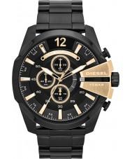 Diesel DZ4338 Mens mega chief zwarte chronograaf