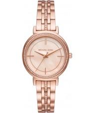 Michael Kors MK3643 Ladies cinthia rose goud vergulde armband horloge