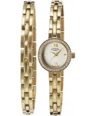 Rotary LB00215-BR-40 Dames horloge en armband gift set