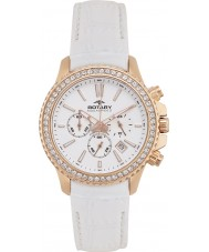 Rotary ALS00088-C-01 Ladies AquaSpeed zomer steeg witte chronograafhorloge