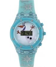 Frozen FZN3799 Meisjes Olaf knipperende horloge met blauwe siliconen band
