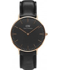 Daniel Wellington DW00100139 Klassiek zwart Sheffield 36mm horloge