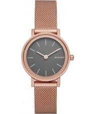 Skagen SKW2470 Ladies Hald rose goud verguld mesh armband horloge