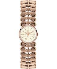 Orla Kiely OK4020 Ladies laurier rose goud verguld horloge