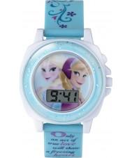 Frozen FZN3677 Meisjes anna en Elsa zingen horloge met blauwe plastic bandje