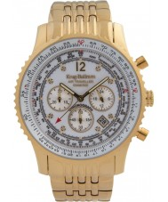 Krug-Baumen 600101DS Mens luchtreiziger diamanten horloge