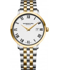 Raymond Weil 5488-STP-00300 Mens toccata two tone stalen armband horloge