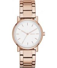 DKNY NY2344 Ladies soho rose gouden horloge