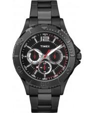 Timex TW2P87700 Mens taft straat zwarte stalen armband horloge