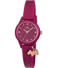 Radley RY2438 Dameshorloge in Ruby siliconen band horloge