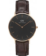 Daniel Wellington DW00100140 Klassiek zwart york 36mm horloge