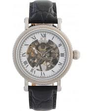 Krug-Baumen 60112DM Mens prestige zwart lederen band horloge