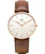 Daniel Wellington DW00100035 Dames klassieke st mawes 36mm rose gouden horloge