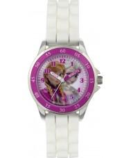 Frozen FZN3550 Meisjes anna en Elsa tijd leraar horloge met witte siliconen band