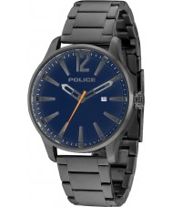 Police 14764JSU-03M Mens Dallas grijze stalen armband horloge