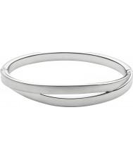 Skagen SKJ0714040 Ladies elin zilver staal uitgesneden armband