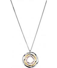 Calvin Klein KJ0KDP300100 Ladies exclusieve driekleurige hanger ketting