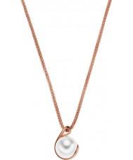Skagen SKJ0652791 Ladies Agnethe rose gouden parel hanger ketting