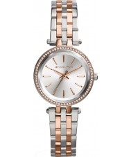 Michael Kors MK3298 Ladies mini Darci two tone stalen armband horloge