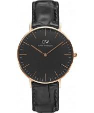 Daniel Wellington DW00100141 Klassiek zwart lezen 36mm horloge