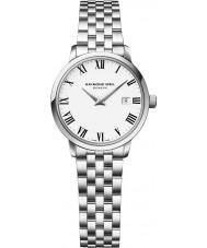 Raymond Weil 5988-ST-00300 Ladies toccata zilveren stalen armband horloge