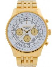 Krug-Baumen 600101DSA Mens air traveler diamond automatisch horloge