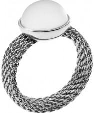Skagen SKJ0116S8 Dames zilveren parel ring - formaat q