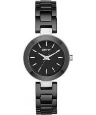 DKNY NY2355 Ladies Stanhope zwarte keramische horloge
