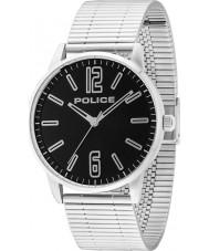 Police 14765JS-02M Mens Esquire zilveren stalen armband horloge