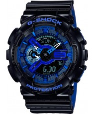 Casio GA-110LPA-1AER Mens G-SHOCK wereldtijd blauw hars Strap Watch