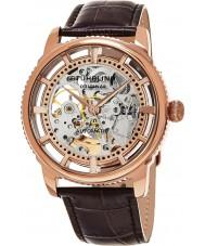 Stuhrling Original 393-3345K14 Mens legacy winchester skeleton horloge