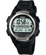 Casio W-756-1AVES Collection zwart digitaal horloge