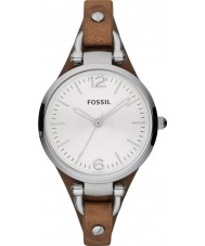 Fossil ES3060 Dames Georgia Brown horloge